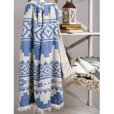 Плед Barine RUG THROW DENIM, 125х170 см.