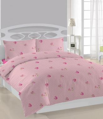 Постельное белье Weekend - ROSA DOTS, Евро, 240х260 см., 200х220 см., 1, 50х70 см., 2